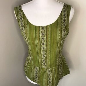 Prana Croptop, SZ Large, top section fully lined